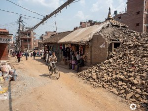 Nepal p miasta po trzęsieniu ziemi w 2015