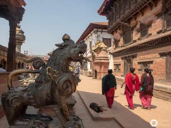 Durbar Square w Bhaktapurze, Nepal