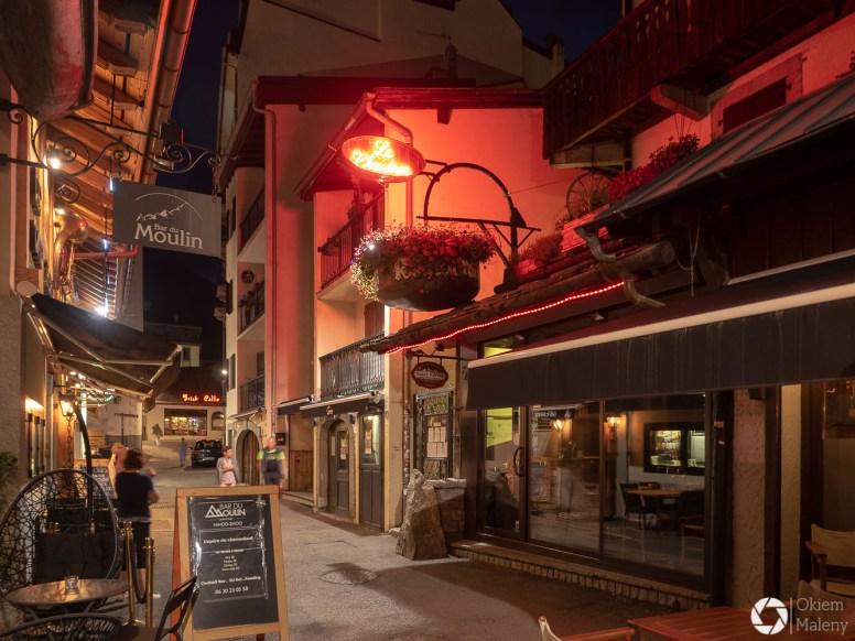 Chamonix nocą