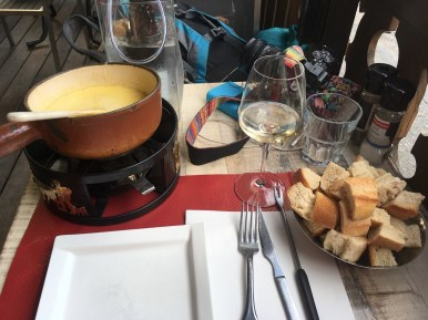 fondue w chamonix