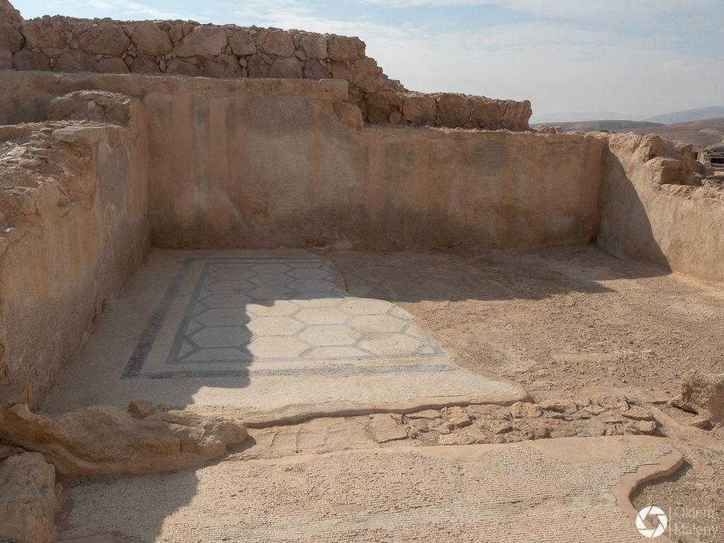 Masada - zabytkowa posadzka