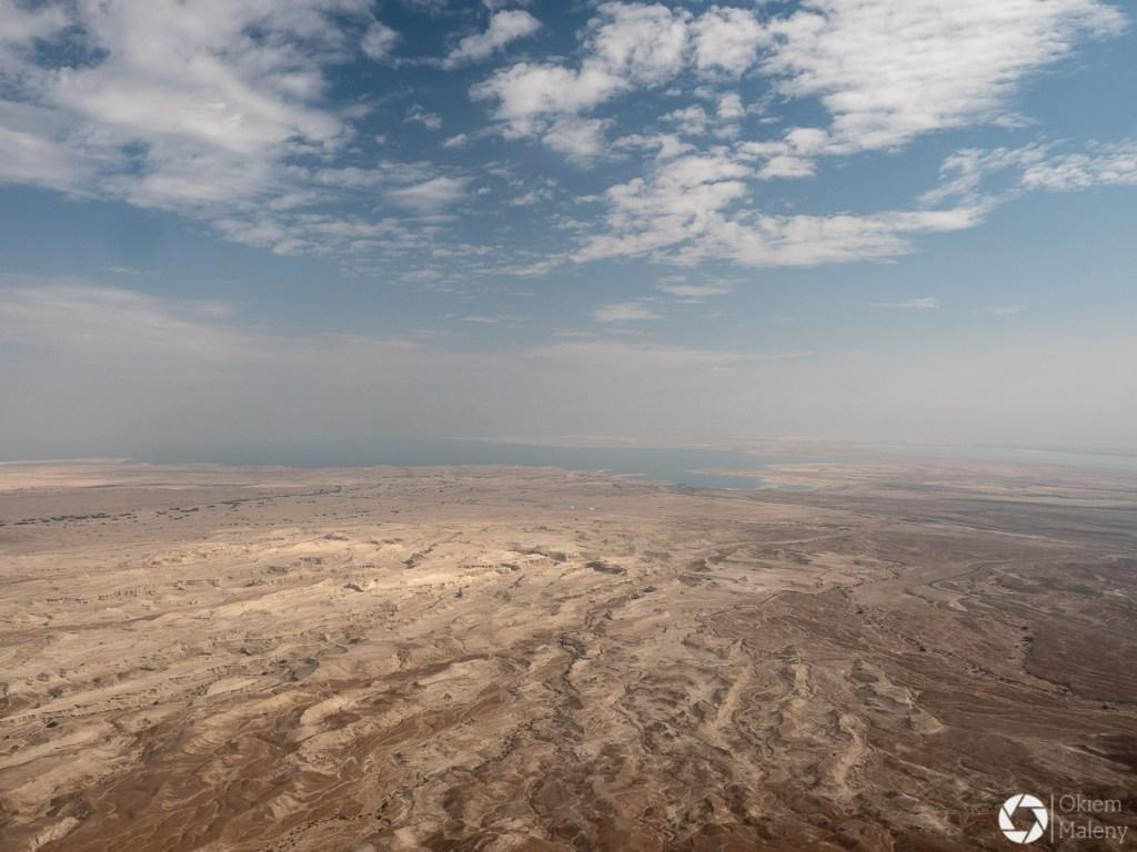 Pustynia Judzka i Morze Martwe - widok z Masady