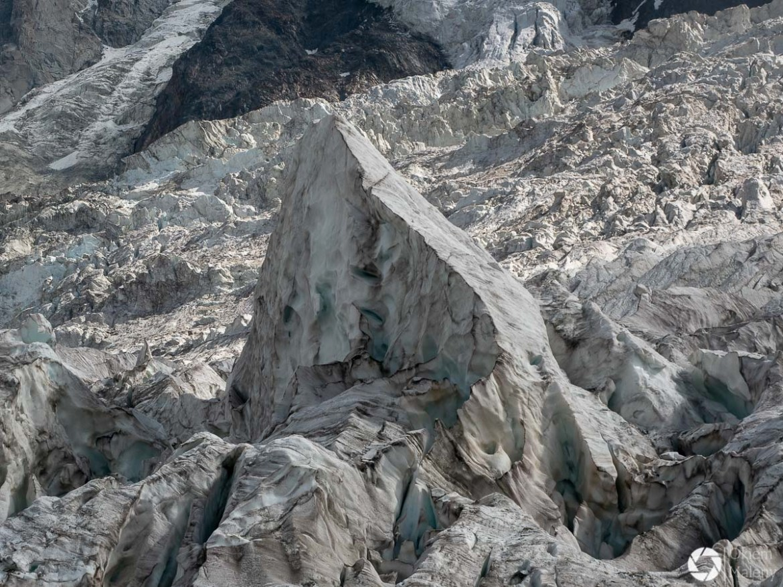La Jonction - szczeliny lodowcowe