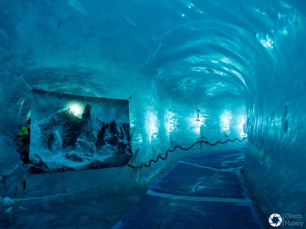Mer de glace - lodowa jaskinia