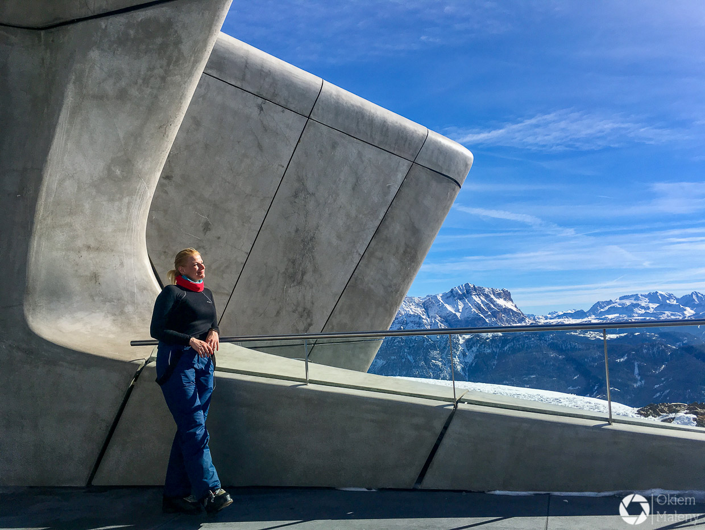 kronplatz muzeum Messnera zaha hadid