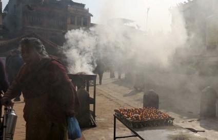 Boudha, położona kilka kilometrów od centrum Katmandu jest dla tybetańskich mnichów najświętszym miejscem poza Tybetem