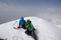 Kazbek Wysokość 5033 m zdobyty