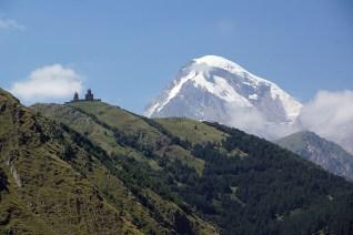 Kazbek Wysokość 5033 m n.p.m.