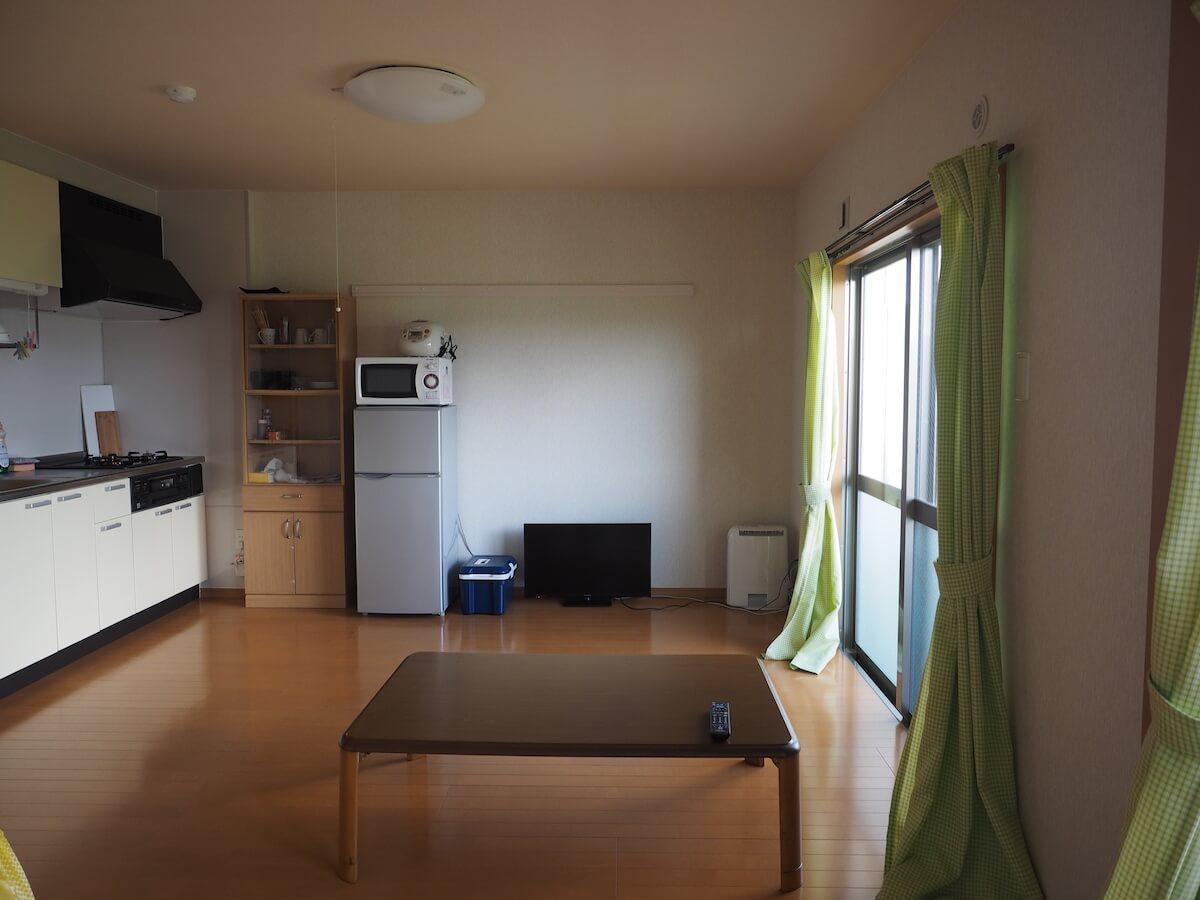 東村の移住体験の住宅
