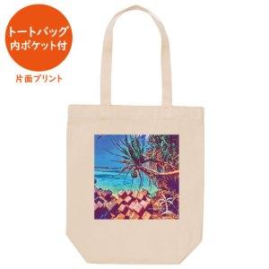 Okinawa life full of smiles No.40 アート画像(トートバッグ 内ポケット付)