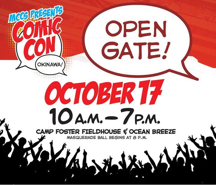 コミックコン沖縄(Comic Con Okinawa)のポスター