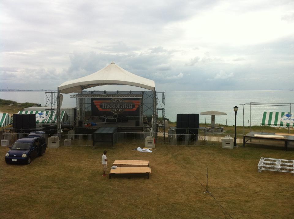 トリイビーチ・ロックトーバー・フェスト2015の会場風景