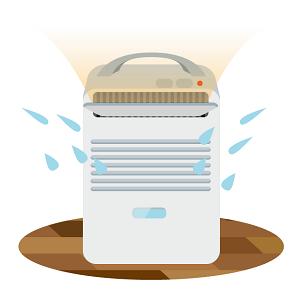 除湿乾燥機はコロナのコンプレッサー方式が人気 口コミは?
