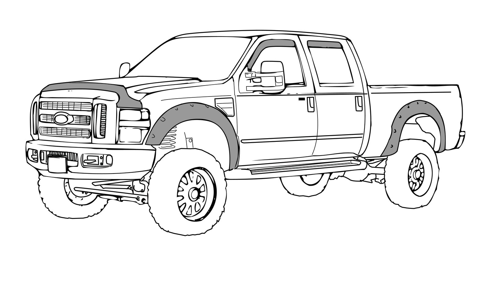 Coloring Pages Trucks And Cars Free Coloring Pages Download | Xsibe ...