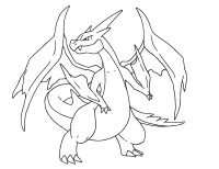 Pokemon Coloring Pages Charizard Printable | Free Coloring ...