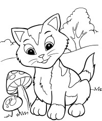Printable Coloring Book Pages for Kids Gallery | Free ...