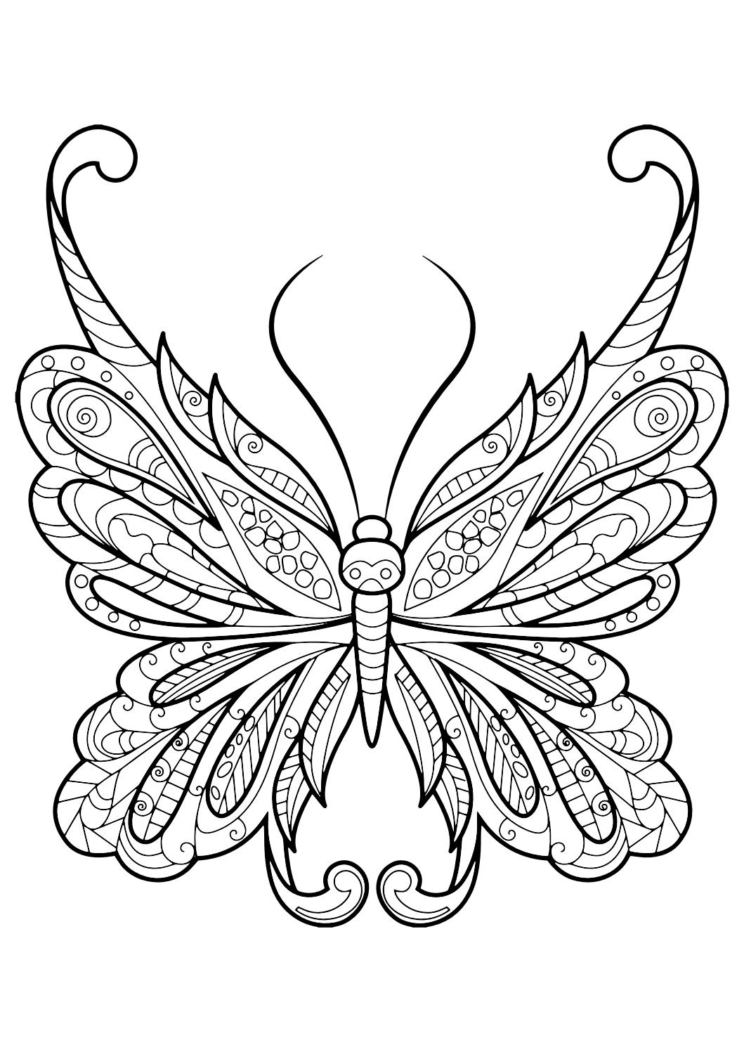 New Life Butterfly Coloring Page Trolls Movie Coloring Pages Best