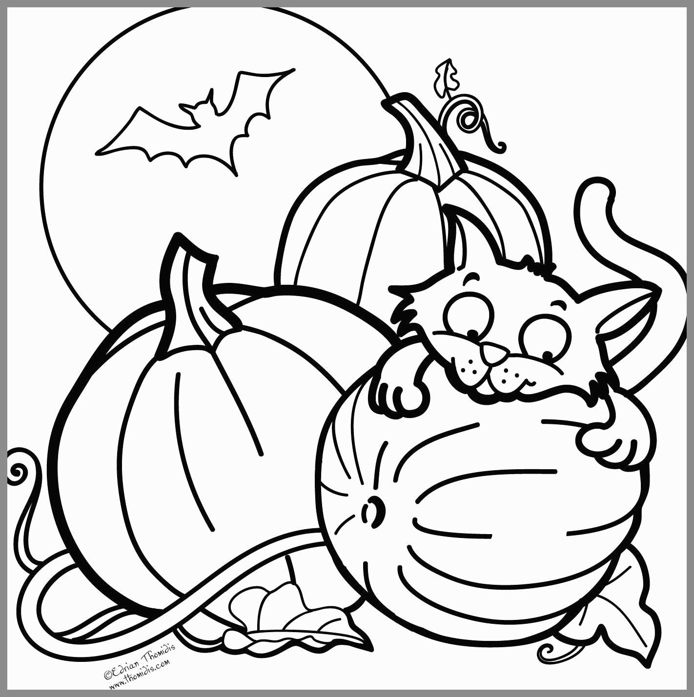 Halloween Coloring Pages Download Free Sheets