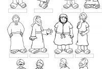 Jesus Calling His Disciples Coloring Pages Printable