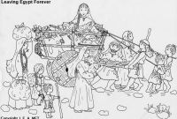 Moses and the Burning Bush Coloring Pages Collection