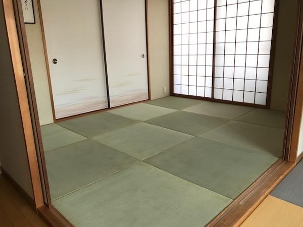 青々した琉球畳