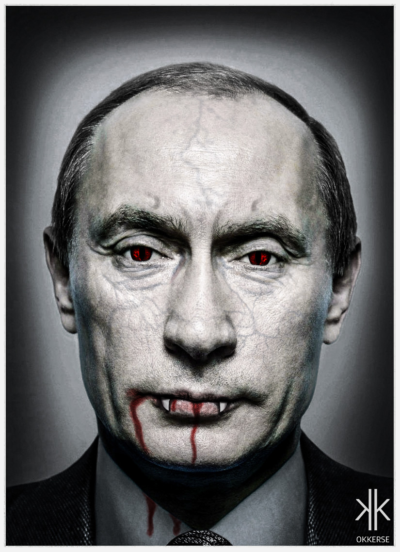 Vampire Putin  okkerse