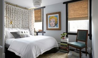A Polished (and Renterfriendly!) Bedroom Makeover