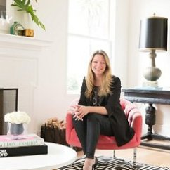 Making Your Own Sofa Table Brown Blue Cushions An Interview With Gretchen Hansen, Founder Of Decorist