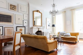 arrange living room furniture open floor plan ottoman coffee tables 7 design savvy ideas for plans photo by lesley unruh
