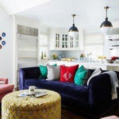 Arrange Living Room Furniture Open Floor Plan Blue Sofa Design 7 Savvy Ideas For Plans Photo By Jessica Sample