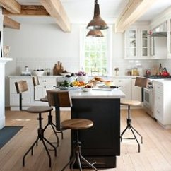 Kitchen Countertops Materials Chairs For How To Master The Farmhouse Modern Look