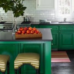 Green Kitchen Cabinets Door Designers Share Their Favorite Paint Colors For Kitchens Designer Tips Showstopping