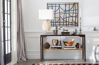 A StepbyStep Guide to Decorating a Console Table