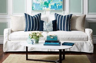 living room pillows floor small library ideas your guide to styling sofa throw color pattern and personality