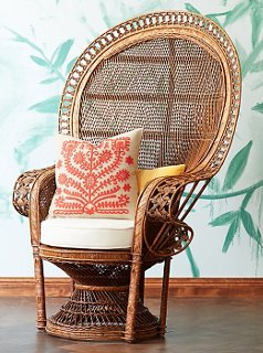 Wicker Round Chair