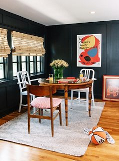 chairs for kitchen table islands kitchens how to master the mismatched dining chair trend round it out