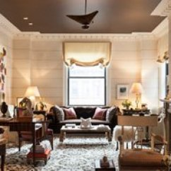 Paint For The Living Room Ideas Side Table Lamps 8 Designer Rooms With Gorgeous Painted Ceilings Perfect Ceiling