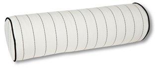 frances 25x8 bolster pillow white multi