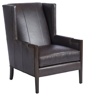 white leather wingback chair office parts za one kings lane stratton espresso
