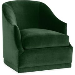 Green Velvet Swivel Chair Pc Game One Kings Lane