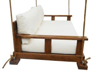 Savannah Bedswing White  Outdoor Furniture  Furniture