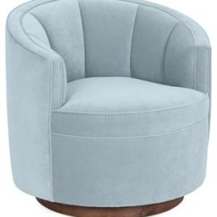 Green Velvet Swivel Chair Swing Egg Ikea Barrel One Kings Lane Jackie Club Sky Blue