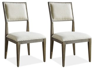 dining chair covers in spanish wwe steel toys chairs one kings lane s 2 mackenna side beige