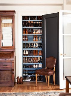 storage for living room sofa diy q a layouts and shoe michelle smith converted this closet in her into the perfect perch shoes
