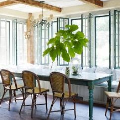 Blue Bistro Chairs Black Tufted Dining Chair Trend Spotted French