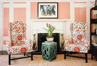 side chairs with arms for living room wall painting ideas the essential guide to wingback chair one kings lane photo by lonny com