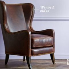 Leather Wingback Chairs Rustic Office Chair The Essential Guide To One Kings Lane