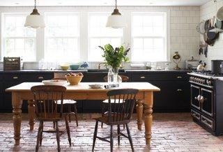 brick floor kitchen granite countertops 12 ideas we absolutely love one kings lane beautiful