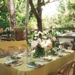 Rug Under Kitchen Table Affordable Islands Designer Jenni Kayne's Garden Party -- One Kings Lane