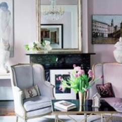 Lavender Living Room Ideas Interior Designing For Small Paint Your Home One Kings Lane We Re Currently Loving Rooms
